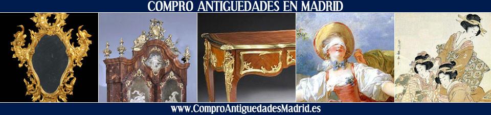 Compro cuadros antiguos y antiguedades en madrid - Muebles antiguos madrid ...
