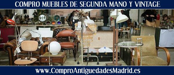 Compro muebles de segunda mano y vintage en madrid for Muebles de segunda mano en madrid milanuncios