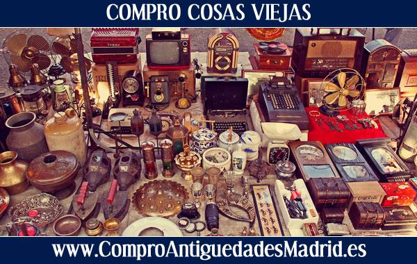 Compro cosas viejas en madrid compra y venta antiguedades for Compro mobili usati