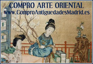 compro arte oriental compra y venta