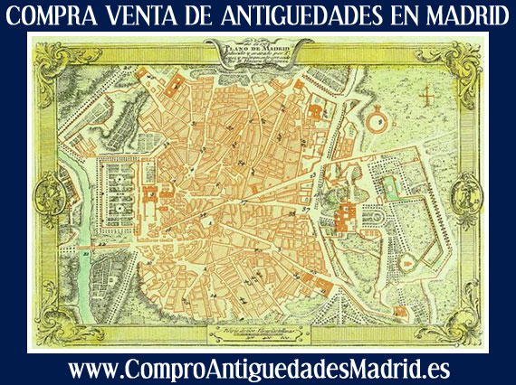 Compra venta de antiguedades en madrid busco arte antiguo for Compra de muebles antiguos madrid