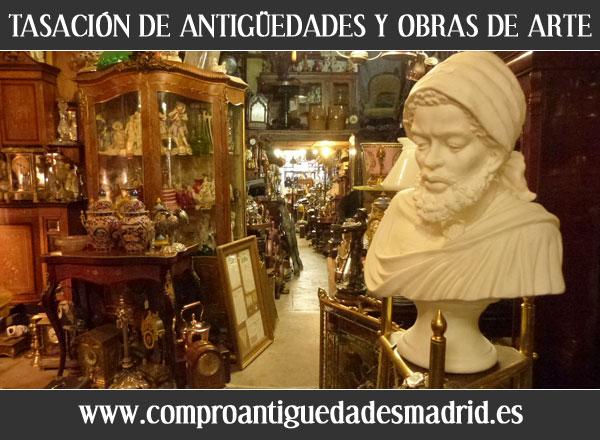 TASACION DE ANTIGUEDADES Y OBRAS DE ARTE